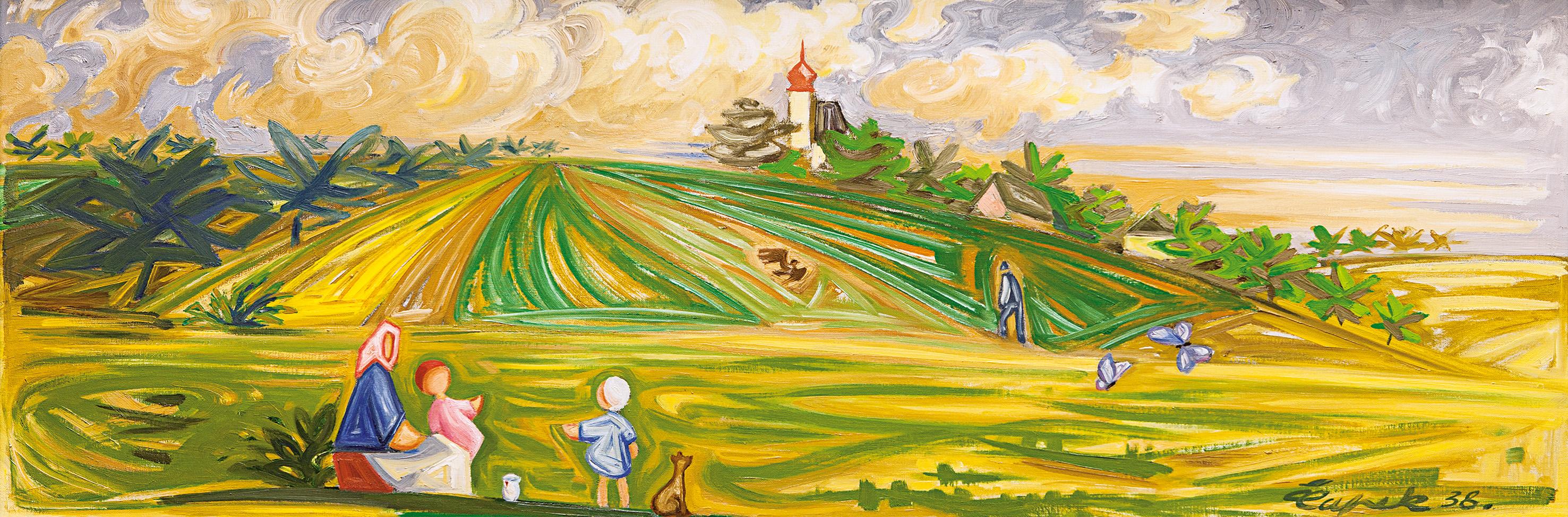 aukce obrazů - aukční síň european arts, aukční síně praha, aukce obrazů Josef Čapek