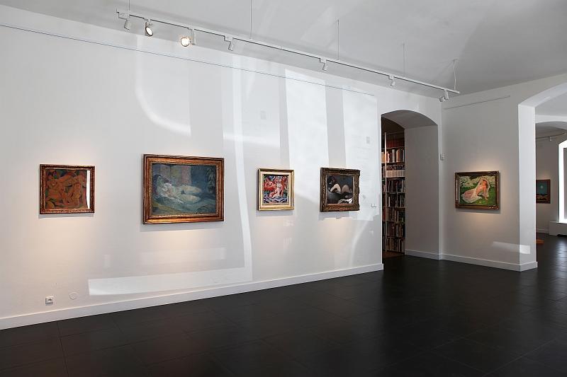 Aukce Obrazů European - Výstava OBNAŽENA
