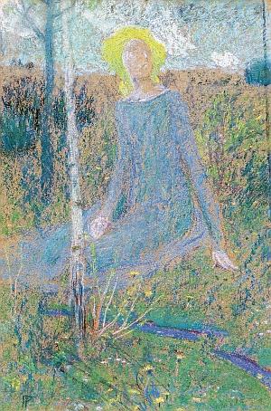 Aukce Obrazů European Arts - Jan Preisler - Jaro / Studie - aukční síň a galerie European Arts