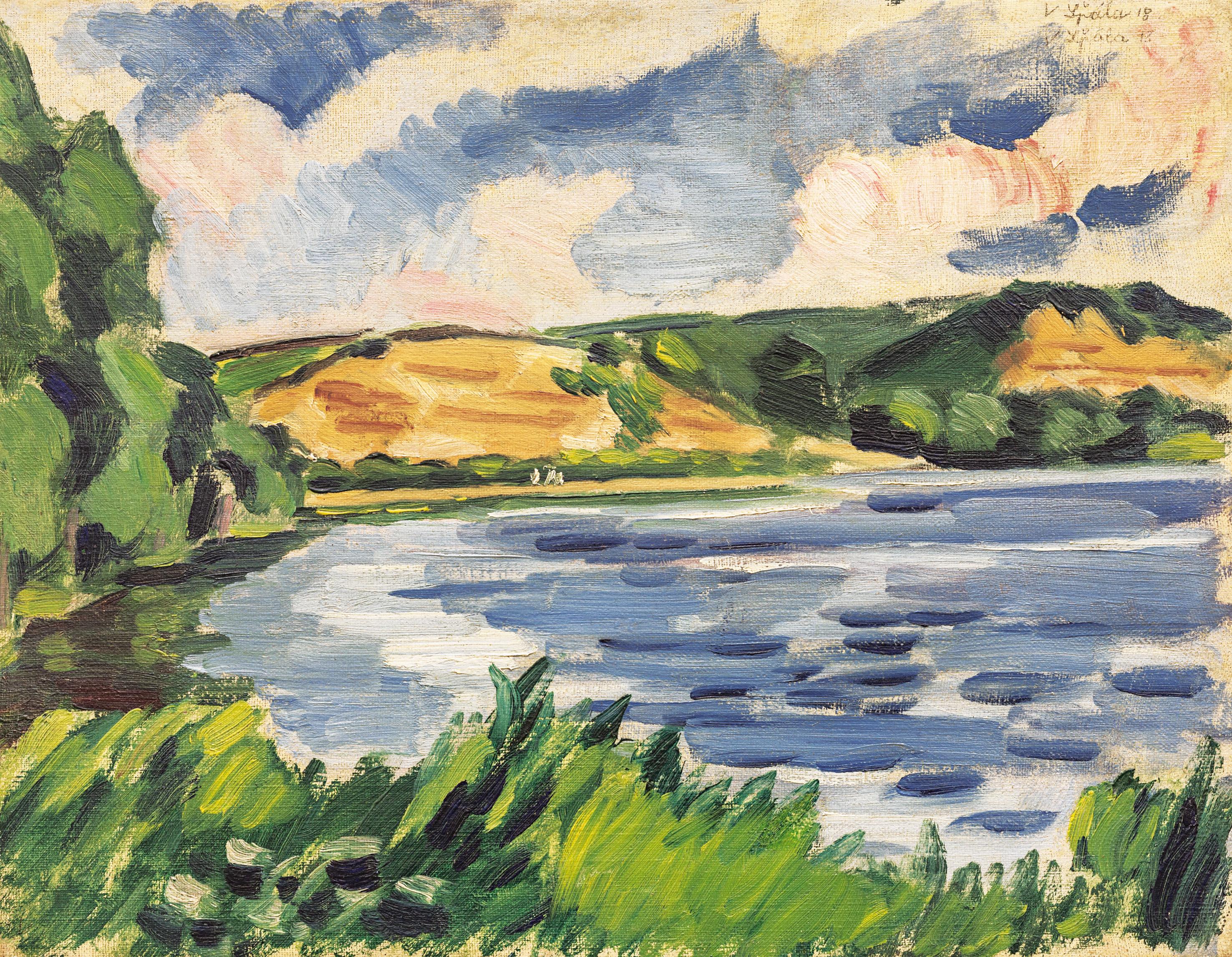 aukce obrazů - aukční síň european arts, aukční síně praha, aukce obrazů Václav Špála