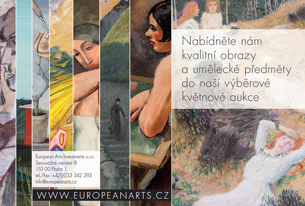 aukce obrazů praha, aukční síň european arts
