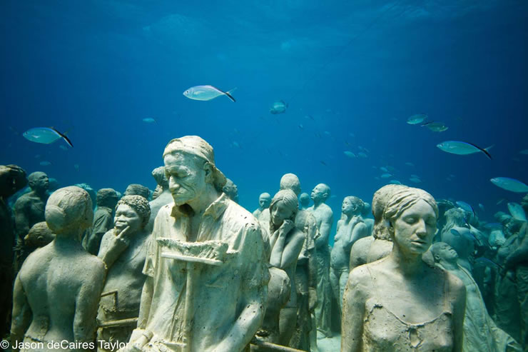 Jason de Caires Taylor - Tichá evoluce / The Silent Evolution