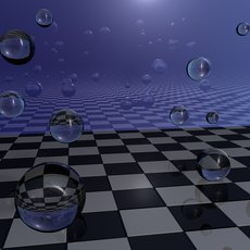 3D grafika - Abstrakcia