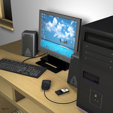 3D grafika - PC zostava