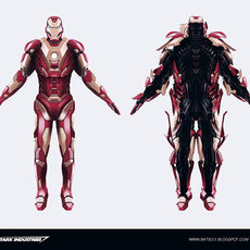 Graphics - Ironman suit