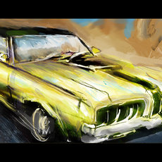 Grafika - Muscle Car