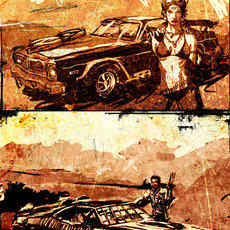 Grafika - Mad Max Fanart