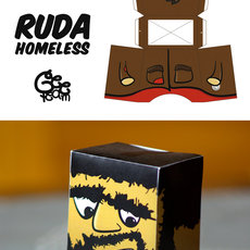 Grafika - Ruda Homeless