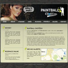 Grafika - Paintball chotěšov - web