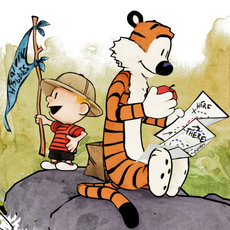 3D grafika - Calvin and Hobbes