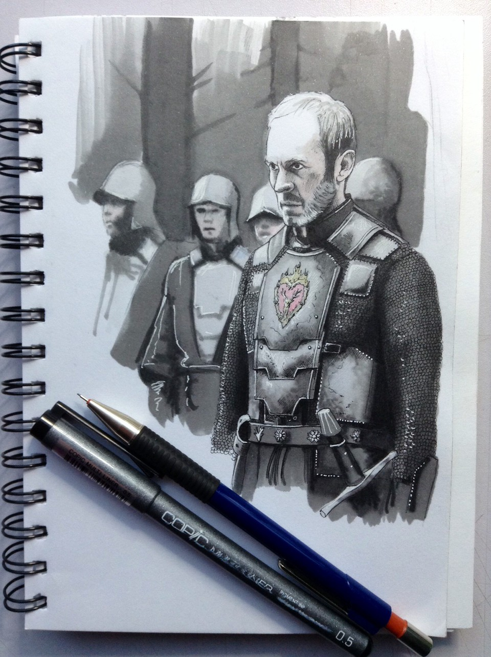 Stannis the Mannis - Grafika - Araon