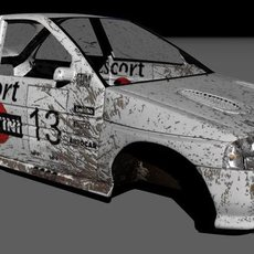 3D grafika - Ford Escort Cosworth