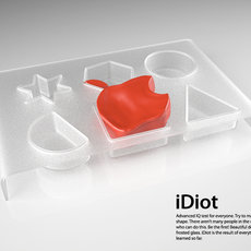 3D grafika - Apple iDiot
