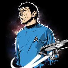 Grafika - mr. Spock