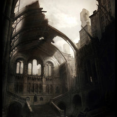 Grafika - Abandoned catedral
