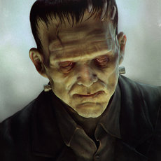 3D grafika - Frankenstein monster