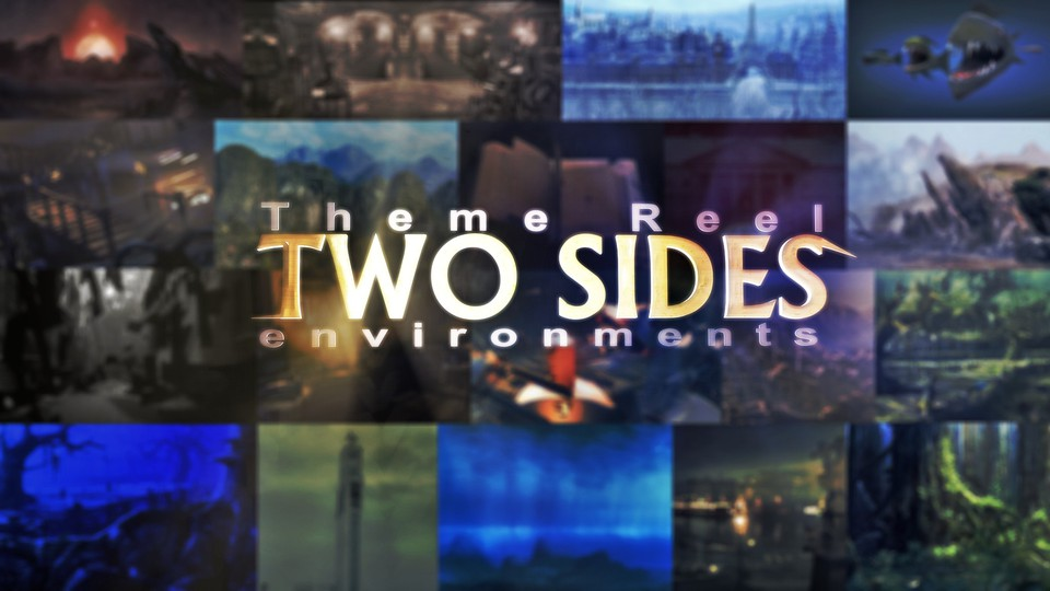 Theme Reel | Two Sides Environments - 3D grafika - johnbruk