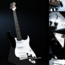 3D grafika - Squier by Fender