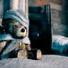 "3D grafika - ""Abandoned Teddy"""