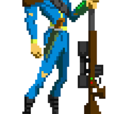 Grafika - The Vault Dweller