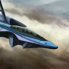 Graphics - Sci-fi Aircraft