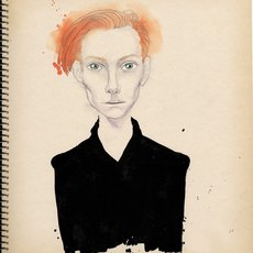 Grafika - Tilda Swinton
