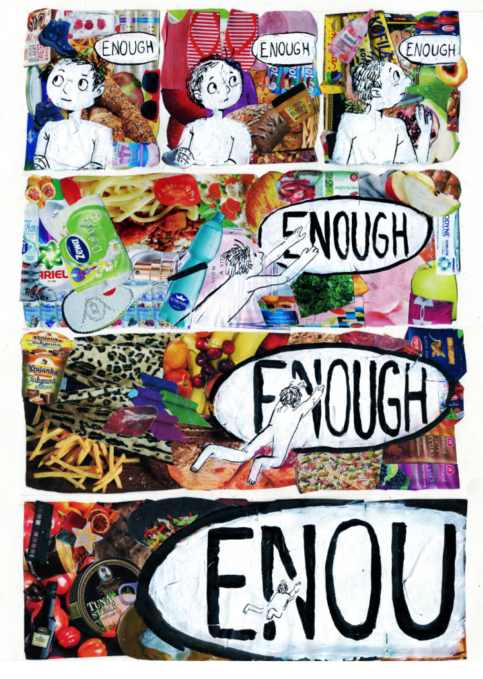 Enough - Grafika - Chechula