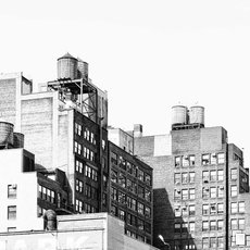 Fotografie - New York water towers