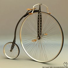 3D grafika - Old Bike