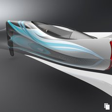 3D grafika - Speedboat