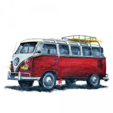 Grafika - VW T1 BUS