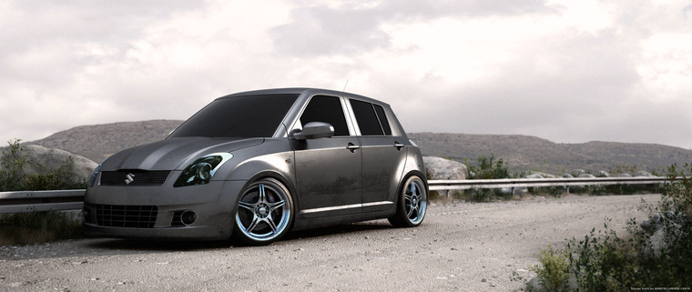 Suzuki Swift - 3D grafika - getzz
