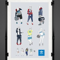 Grafika - Adidas originals