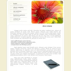 Grafika - web template