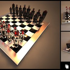 3D grafika - Chess version