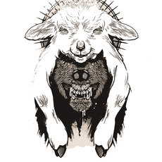 Grafika - The Wolf in Sheep's Clothing