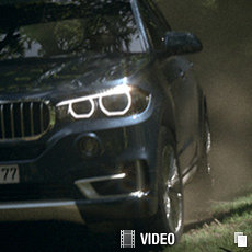 3D grafika - BMW X5 Forest full CG test