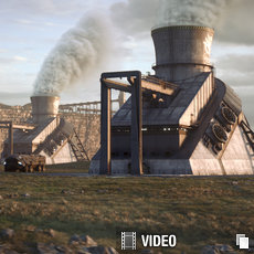 3D grafika - GDI Power Plants