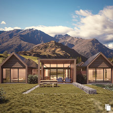 3D grafika - Bendemeer Estate, New Zealand
