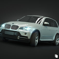 3D grafika - BMW X5 e70 render