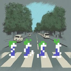 Grafika - Abbey road