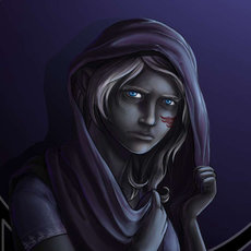 Grafika - Drow girl