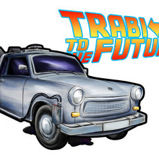 Grafika - Trabi To The Future!
