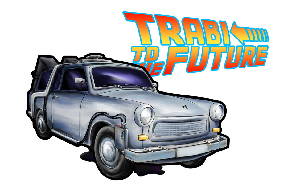Trabi To The Future! - Grafika - TheRejzek