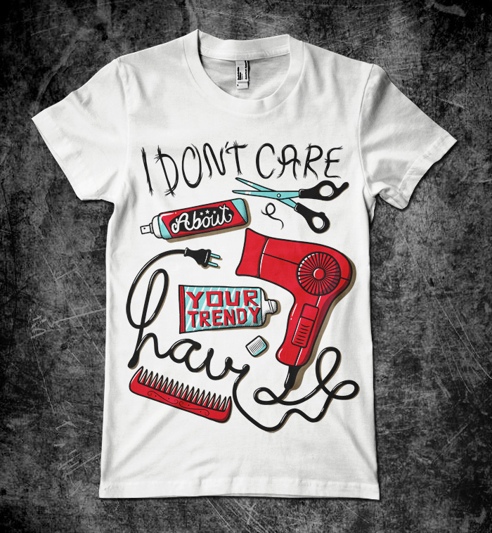 I dont care - Grafika - Marek_Mundok