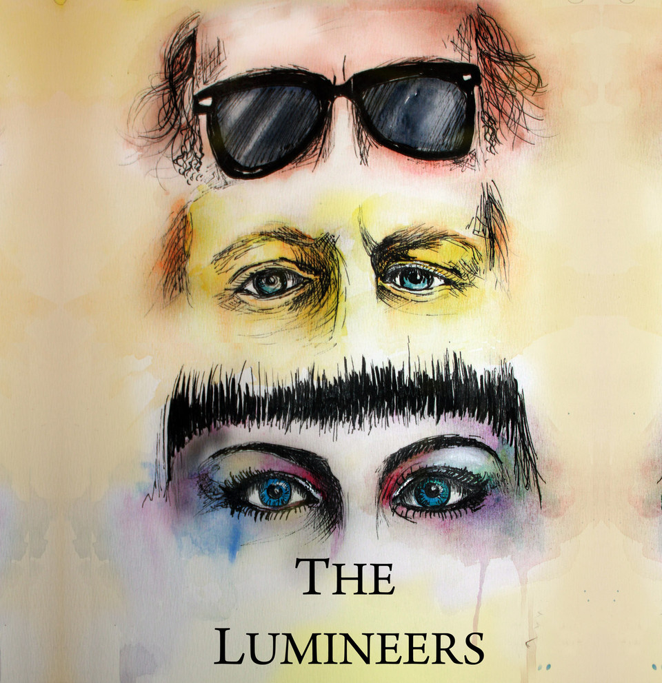 Ilustrace The Lumineers - Grafika - Sam-Way