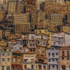 Fotografie - Too many houses #3 Series: collages