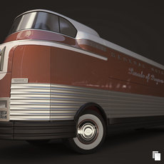 3D grafika - GM Futurliner