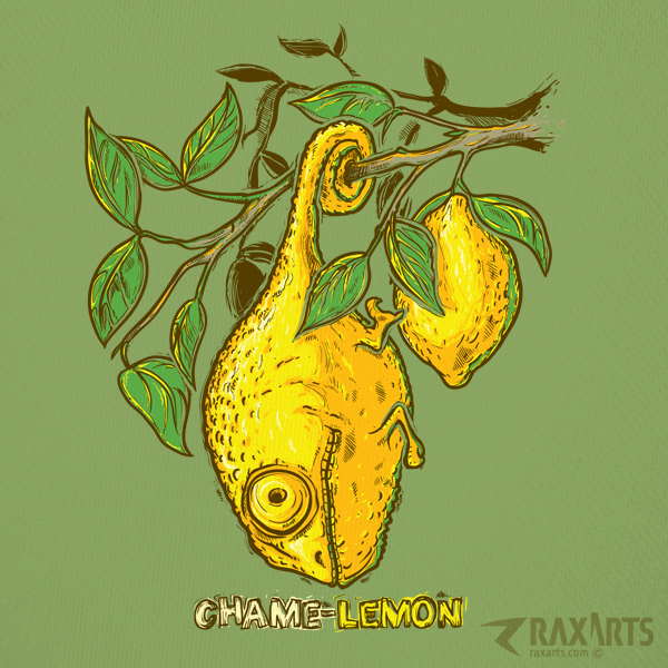 Chame-lemon - Grafika - Rax