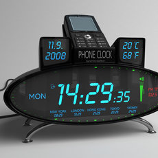 3D grafika - Phone Clock